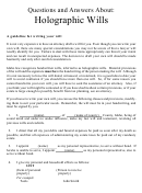 Writing Your Will Worksheet Template