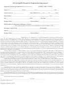 U.s. Living Will Registry Registration Agreement