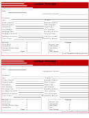 Airline Receipt Template