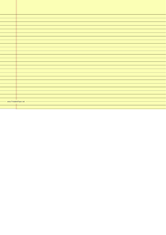 Lined Paper With Borders Printable pdf