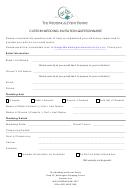 Custom Wedding Invitation Questionnaire