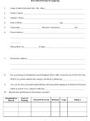 Prescribed Format For Applying