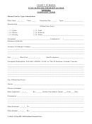 Official Complaint Form