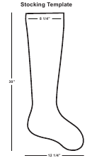 Christmas Stocking Template