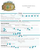 Facial/body Health History Form