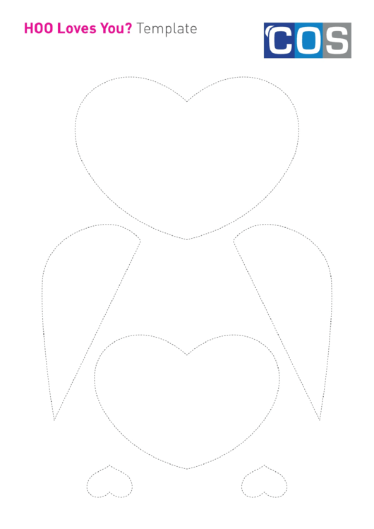 Valentines Day Owl Craft Template