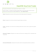 Group Charter Template (sample)