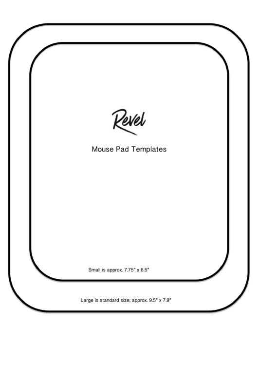 Mouse Pad Templates