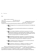 Attorney Opinion Letter Template