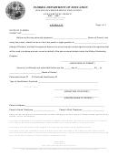 Scholarship Parent Affidavit