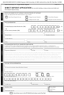 Form-eft1 - Direct Deposit Application Form