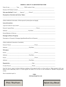 General Liability Claim Reporting Form