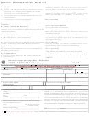 Missouri Voter Registration Application