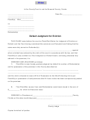 Summons For Eviction Form printable pdf download