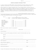 Communication Consent Form
