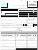 64-029 - Application For License To Sell Nursery Stock - State Of California, Department Of Food And Agriculture