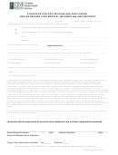 Authorization For Release And Disclosure, And/or Request For Medical Information And Records