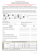 Grants & Proposals Routing Form