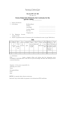 Form Dvat 48 - Form Of Quarterly Return By The Contractee