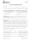 Form 2320f-5 - Student Trip Permission Form