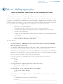 Construction And Demolition Waste Acceptance Form - Metro