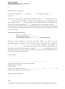Sample Introductory Letter To Parents Template