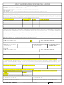 Dd Form 2652 - Application For Department Of Defense Child Care Fees - 2009