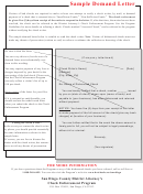 Sample Demand For Payment Letter Template