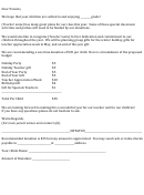 Sample Fund Collection Letter