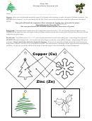 Christmas Redox Ornament Lab Report Template