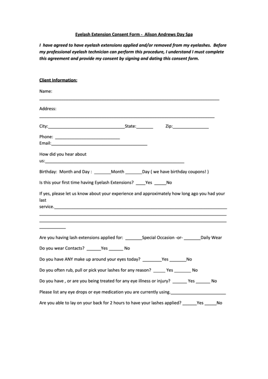 Dating waiver