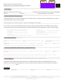 Application For Advance Ballot By Mail - Kansas Secretary Of State