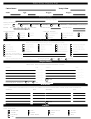 Medical History Information Sheet Template