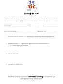 Counselor Bio Form