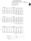 Archery Scoresheet Template