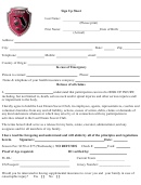 Sign Up Sheet - Last Dream Soccer Club