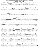 The Music Theory Song By David Rakowski Sheet Music