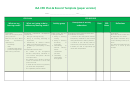 Iaa Cpd Plan & Record Template (paper Version)