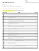Cadet Student Equipment List