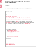 Example Of Vendor Request For Payment Letter/proforma Invoice For Downpayment