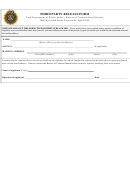 Third Party Release Form - Utah