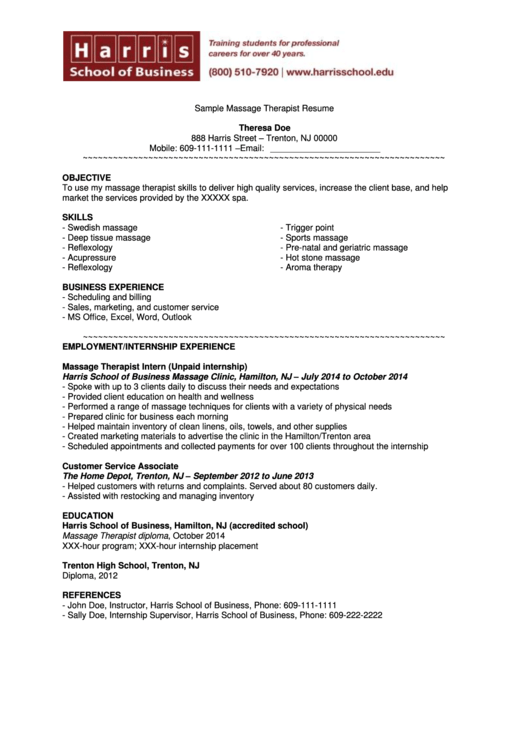 5 personal care  u0026 services resume templates free to