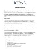 Housekeeping Supervisor Job Description