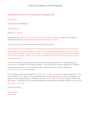 Letter Of Invitation To Formal Hearing Example