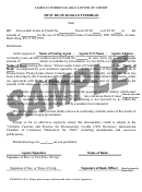 Sample Irrevocable Letter Of Credit Template