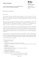 Letter Of Consent From The Legal Guardian(s) For An Underage Applicant To Enrol At The Btu Cottbus-senftenberg