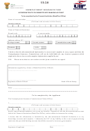 Form Ui-2.8 - Authorisation To Pay Benefits Into Banking Account - Department Of Labour, Republic Of South Africa