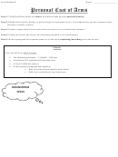 Social Studies Lesson Plan Template: Personal Coat Of Arms