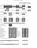Dui Overtime Enforcement Stat Sheet