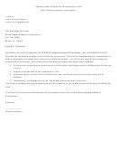 Sample Letter To Apply For Membership